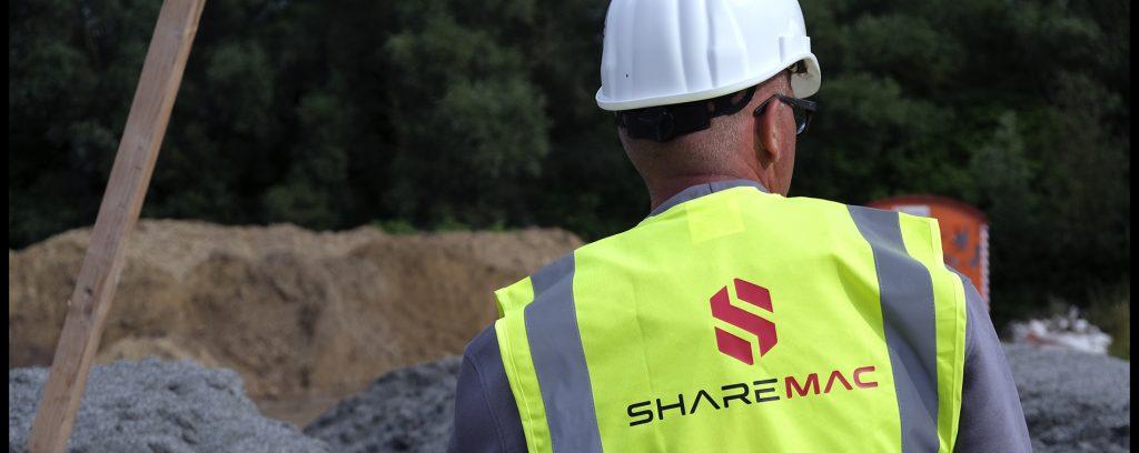 Sharemac nutzt Telematikdaten für automatisiertes Baustellenmanagement